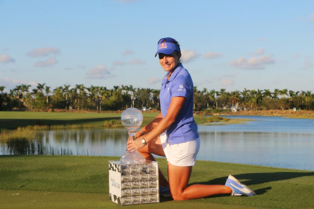 Lexi Thompson Wins Vare Trophy at CME Group Tour Championship