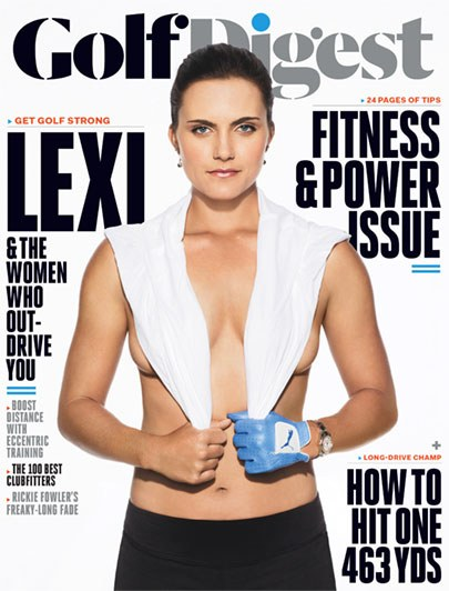 Golf Digest Lexi Thompson