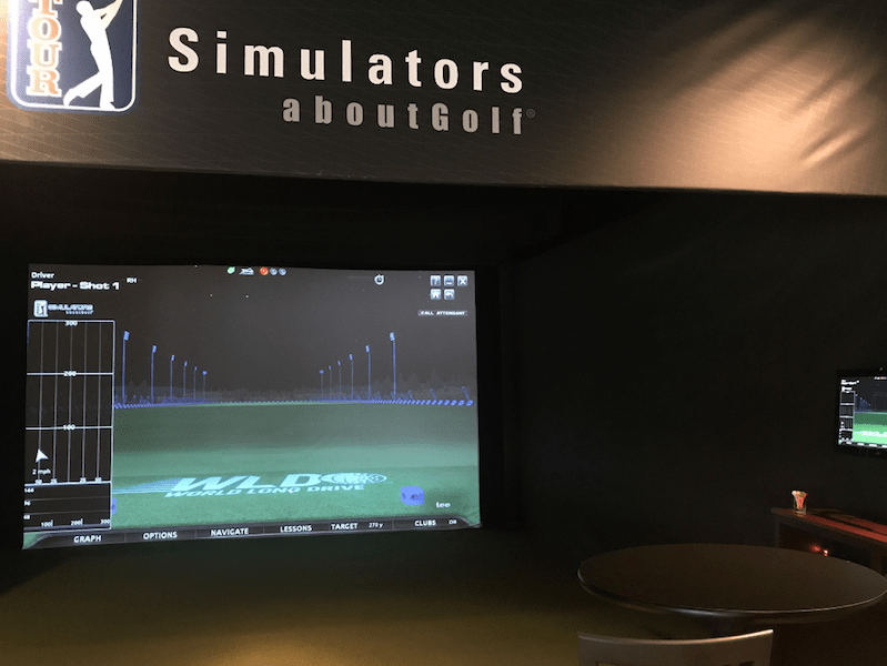 FORE! Golf Entertainment Virtual Golf Simulator