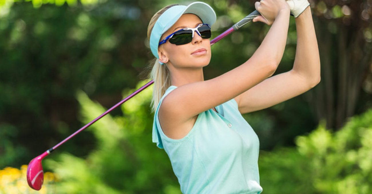Women's Golf Sunglasses