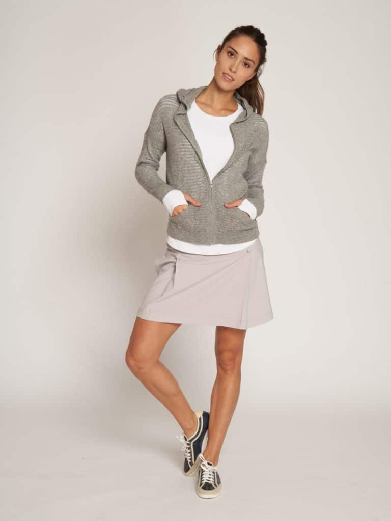 golf skort with buttons L'Etoile Sport
