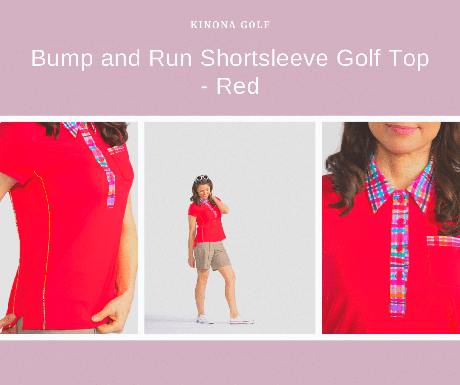 Bump and Run Shortsleeve Golf Top KINONA Golf